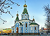 Первый престольный праздник отметил построенный в Екатеринбурге храм Державной Иконы Божией Матери