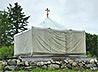 15 лет назад началось служение в «горячих точках» походного Александро-Невского храма-палатки