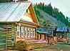 Избы с сохранившейся старинной уральской росписью распахнули свои двери для гостей села Арамашево