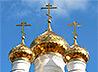 Возрождаемая в деревне Чусовляны церковь вновь засверкала золотом куполов