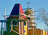 В Гарях завершается строительство деревянной церкви во имя Святителя Иоасафа Белгородского