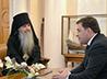 Митрополит Кирилл представил главе региона Каменского архипастыря