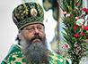 В Вербное Воскресение архиерейское богослужение состоялось в главном храме Екатеринбурга