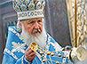 Святейший Патриарх Кирилл совершил службу у мощей великомученицы Екатерины Александрийской