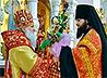 Чин поздравления Правящего Архиерея совершен в екатеринбургском Храме-на-Крови