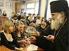 Ученики 176-й гимназии Екатеринбурга приступают к выпускным экзаменам с Архиерейским благословением