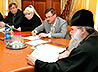 В резиденции Правящего Архиерея Екатеринбургской епархии состоялся традиционный Пасхальный прием