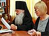 Прошла встреча архиепископа Викентия с руководителями управления образования уральской столицы и ее административных районов