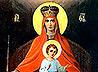 Икона Божией Матери «Державная» из сысертской Петро-Павловской церкви побывала в Белогорском и Алапаевском монастырях