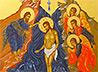 В возрождаемом Богоявленском храме Сухого Лога постоянно мироточит икона «Крещение Господне»