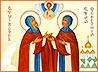 Верующие Полевского помолились перед иконой и мощами покровителей семейного очага
