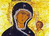 Общей молитвой у Тихвинской иконы прославили Пресвятую Богородицу в селе Волковское