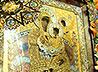 Чудотворный образ Богоматери «Всецарица» торжественно встретили в Екатеринбурге