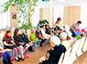 Православное общение детей организовали в храме Целителя Пантелеимона