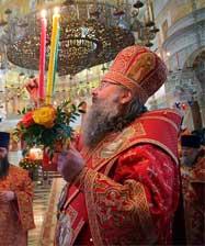 Правящий архиерей совершит богослужения Светлой седмицы в храмах епархии