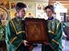 В храме на Семи Ключах освятили отреставрированную икону с непростой историей