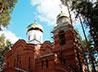 В строящемся храме Луки Крымского начались постоянные богослужения