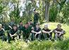 Православная допризывная молодежь Артемовского училась науке выживания на летних военно-полевых сборах