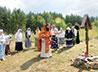 Под Невьянском на месте найденных нерожденных младенцев совершили молебен