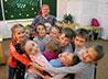 Воспитанников летнего лагеря познакомили с русской культурой через игру
