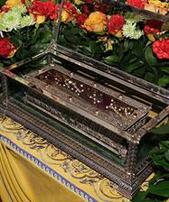 Десница святителя Спиридона, епископа Тримифунтского прибыла в Екатеринбург