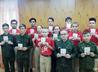 Участникам отряда «Святогор» торжественно вручили юнармейские удостоверения
