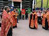 Екатеринбургские школьники поучаствовали в традиционном совместном молебне