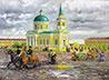 ДПЦ «Царский» приглашает на выставку картин сибирского художника о Екатеринбурге