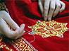 Мастерицы Ново-Тихвинской обители разработали к Рождеству изящную вышивку