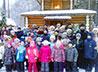 Коллектив ЦПШ Большого Златоуста посетил храм свв. Царственных страстотерпцев в п. Сарапулка