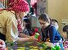 Фольклорный праздник устроили для детей в просветительском центре «Древо познания»