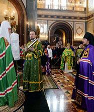 В праздник Входа Господня в Иерусалим Патриарх Кирилл совершил хиротонию архимандрита Алексия (Орлова) во епископа Серовского и Краснотурьинского