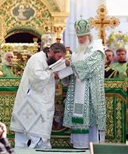 В Свято-Троицком Серафимо-Дивеевском монастыре состоялась хиротония архимандрита Евгения (Кульберга) во епископа Среднеуральского