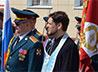 Священник Алексей Занозин поздравил военнослужащих войсковой части в г. Лесном