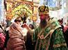 Епископ Евгений поучаствовал в вечернем богослужении в Дивеево