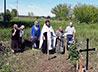 В селе Бичур совершили панихиду у обретенного старинного захоронения