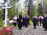 Память погибших в годы Гражданской войны верхнетагильцев почтили литией на Кузовой Яме