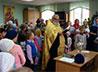 Юные прихожане храма св. Симеона Верхотурского г. Лесной встретили начало учебного года молебном