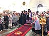 Серовчане встретили престольный праздник Преображенского собора
