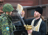 Березовские призывники отправились на военную службу, получив благословение священника