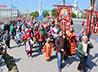 Около 1000 человек прошли 1 июня традиционным Крестным ходом в честь окончания учебного года