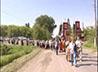 В честь великомученицы Параскевы-Пятницы состоялся крестный ход из Камышлова в с. Савино