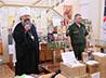 Митрополит Кирилл лично вручил военным книги, собранные в ходе акции «Подари книгу солдату»