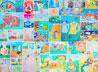 Каталог детских работ - книжных иллюстраций издали в православной гимназии