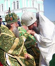 6 августа Екатеринбургская епархия встретит епископа Среднеуральского Евгения