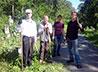 Студенты ЕДС вместе с горожанами провели уборку захоронений на Ивановском кладбище