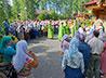 Престольный праздник храма прп. Серафима Саровского новоуральцы встретили всем миром