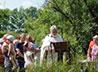 Массовое Крещение на реке Брусянке совершили в Белоярском районе
