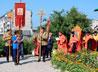 В память о священномученике в Талице организовали велопробег и отслужили Литургию