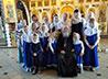 Певчими на Литургии в Никольском храме выступили девочки из школы «Отроковица»